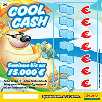 Das Rubbellos Cool Cash