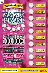 Das Rubbellos Magic Pearl